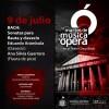 Interpretarán Piezas de Bach en los Martes de Música y Ópera