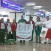Viajan Adultos Mayores a Mundial de Atletismo en Brasil