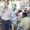 Logra Andrés González que fluyan recursos al campo local