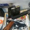 PGR asegura arma de fuego en empresa de paquetería