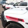 Entregan cuatro patrullas a cuatro municipios