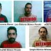 Capturan integrantes de crimen organizado y aseguran armamento y vehículos