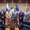 Sostienen encuentro Gobernador del Estado y el embajador de Rusia en México