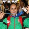 Regresó Chayito como doble campeona mundial