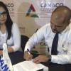 Firma Canaco y CFE convenio para brindar mejor servicio a empresarios
