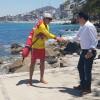 Intensa presencia policiaca en franja turística y playas