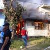 Detienen a sujeto acusado de incendiar casa de su madre