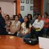 Brinda Candelaria Tovar plática de orientación a personal del DIF