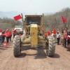 Antorchistas logran más inversión para carretera en la Sierra de Amula