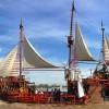 Regresa renovado el Marigalante, el famoso barco pirata de Puerto Vallarta