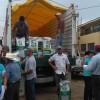 Logran Antorchistas insumo para agricultores de Amatitán