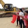 Construyen auditorio deportivo en Pihuamo, Jalisco