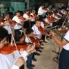 Clausura del taller de iniciación musical