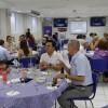 Disfrutaron gratamente su tradicional cena hogareña socios del Club Rotario Puerto Vallarta Sur