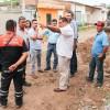 Supervisa Arturo Dávalos zonas afectadas por las lluvias