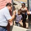 Entregó apoyos a personas afectadas por las lluvias