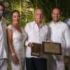 Hacen entrega de reconocimientos en  el marco del Día Internacional del Turismo
