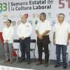Inician actividades de la Semana de Cultura Laboral en PV