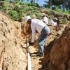 Avanzan los trabajos para abastecer de agua potable el área de El Colorado