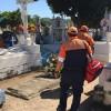 Garantizan seguridad en los 5 panteones municipales con operativo Día de Muertos 2017