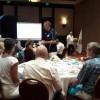 Dictan charla en el Club Rotario Puerto Vallarta sur del mes de la lucha contra el Cáncer de Próstata