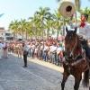 Celebran desfile por la Revolución Mexicana