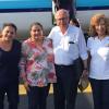 Gloria Carrillo participa para dar transparencia a la entrega de víveres en Oaxaca