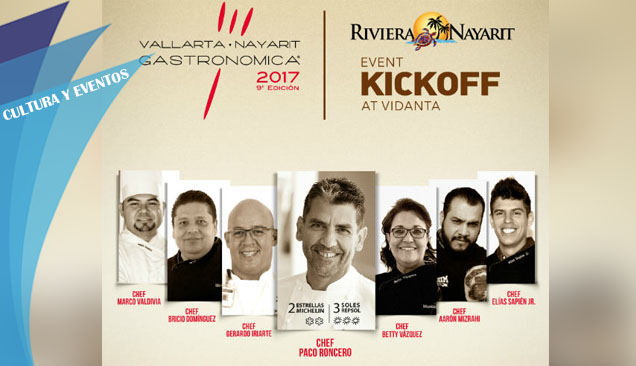 KICK OFF VALLARTA GASTRONOMICA